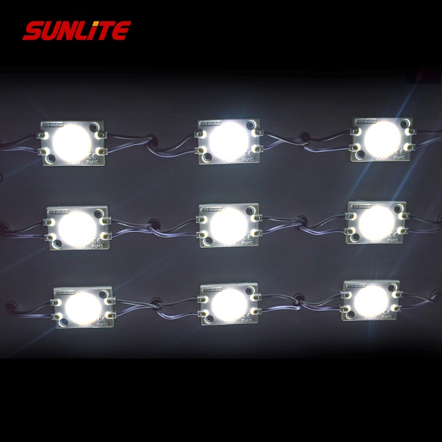 2018 New High Brightness DC 12V SMD2835 LED Module Light Waterproof With Lens