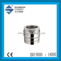 CE and stainless steel chimney double wall pipe for stoves chimney pipe fittings