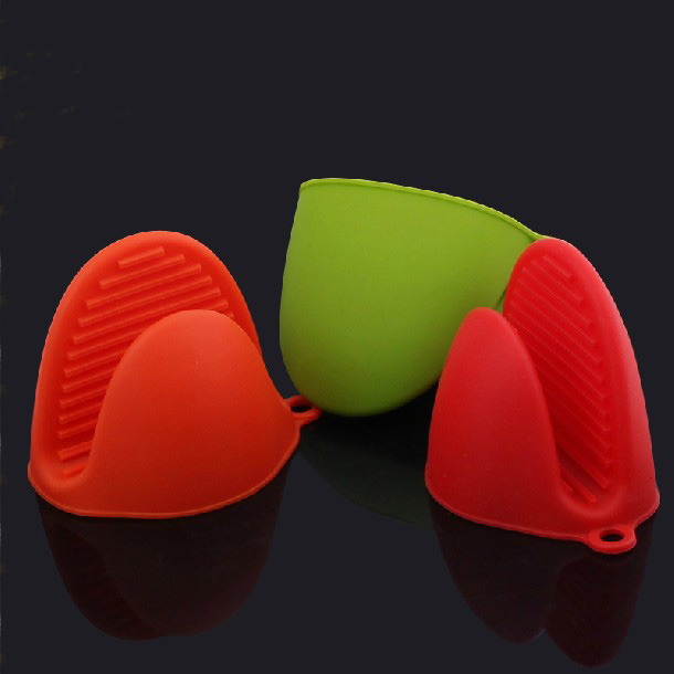 Mutifunctional Heat Resistant Food Grade Oven Mitts Silicone Finger Tips Oven Mitts