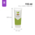 New colorful dots 110ml customized face wash tube container