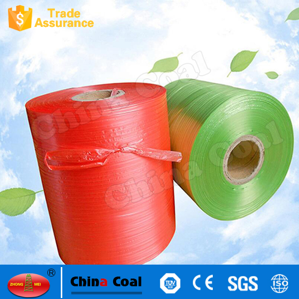 Green Color 16mm PET Packing Belt For Carton Strapping Made in China Coal
