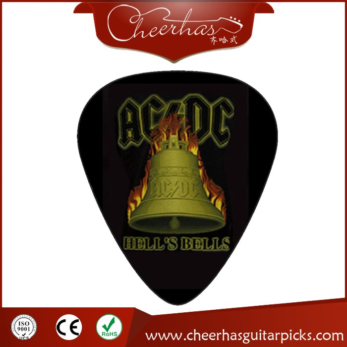 High Quality Custom Band Logo Guitar Picks