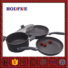 Home Kitchen Cooking Multifunction Pan Set Aluminum Cast Iron Cookware