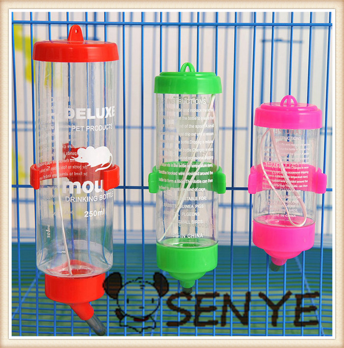 Small pet bottle Small 80 ml hamster drinking fountains of water Small pet supplies perfect pet toy