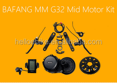 48V 1000W BAFANG BBS MID CRANK MOTOR KIT FOR ELECTRIC BIKES