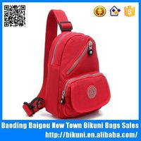 High quality cross body single strap backpack for college young girls