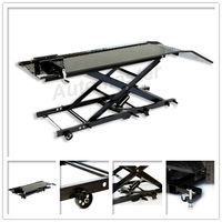 LT0202-800 800lbs Air/Hydraulic Motorcycle Lift Scissor Lift