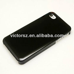 Black hard plain case for iphone 5,pc cover skin for iphone5 5g