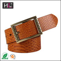 2015 Best-Selling Customer trust factory 3 inch wide leather belt for sale