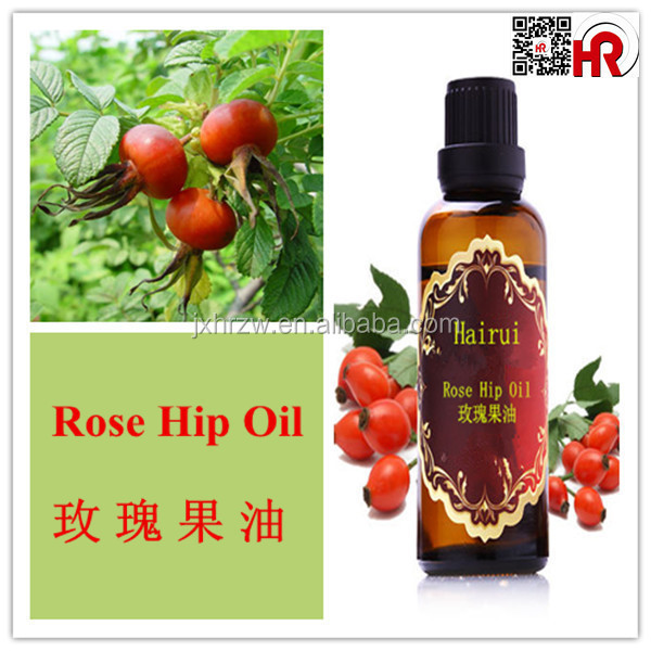 natural and pure rose hip seed oil