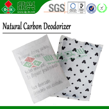 Eco Drying Activated Carbon Deodorant, Purified Active carbon Deodorizer, DMF free