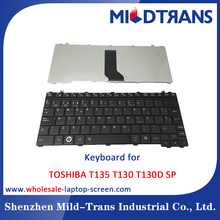 Wholesale laptop replacing Keyboard for TOSHIBA T130 SP layout