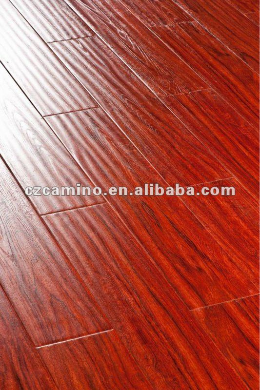 Hand Scratched Wood laminate floor factory