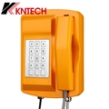 Industrial Analog Waterproof IP66 Telephone KNSP-18 Emergency SOS Telephone