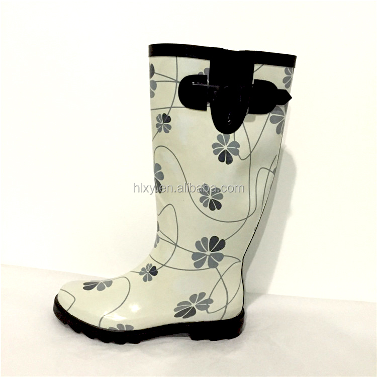fashion rubber shoes womens waterproof boots bots for women rain