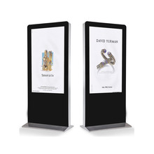 Easy-to-install 55 inch Digital Signage Free Standing LCD Advertising Display with User-friendly DSM80 CMS Software