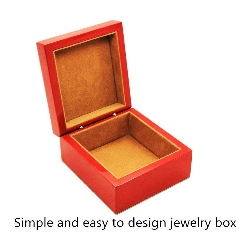 Custom High-End Gold Fancy Wooden Packaging Boxes