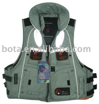 Fishing vest with CE