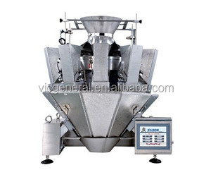 multihead weigher typically used for dry applications including snacks, confectionery, biscuits and pasta.