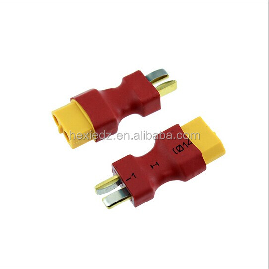 XT60 Female to T Deans Male Plug Conversion Connector For Battery & Charger RC Quadcopte