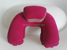 Neck support funny travel neck pillow inflatable pillow neck pillow u shape