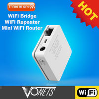 2013 New fashionable WIFI, three in one , wireless wifi router & wifi bridge & wifi bridge for IP products-VONETS VAR11N