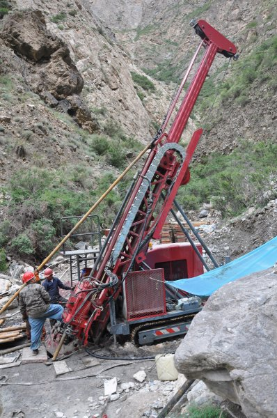 Multifunctional Surface Exploration C7 Core Drilling Rig With Good Performance And High Reliability
