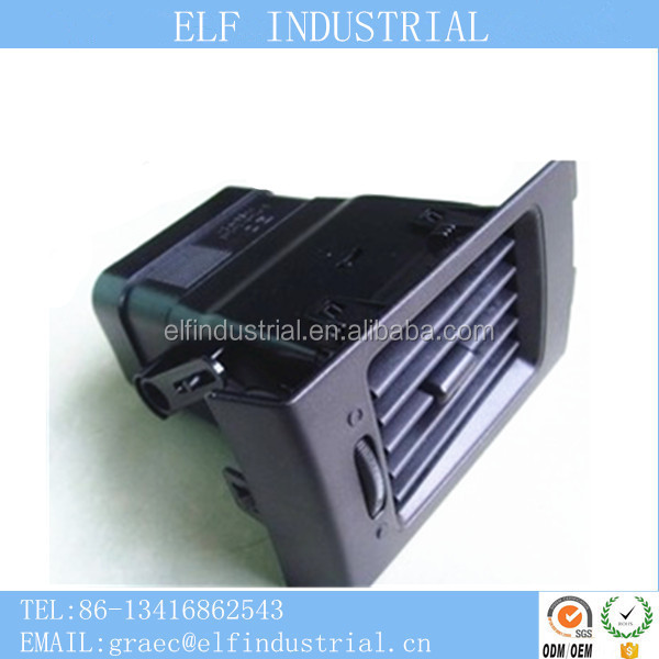 Brand factory online shopping auto car accessories interior air conditioning plastic injection molding parts