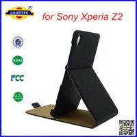 Leather Flip Case for Sony Xperia Z2 Case