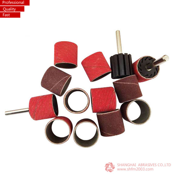"Aluminium Oxide Abrasive Tools 1/4"" Mini Sanding Band and Drum"