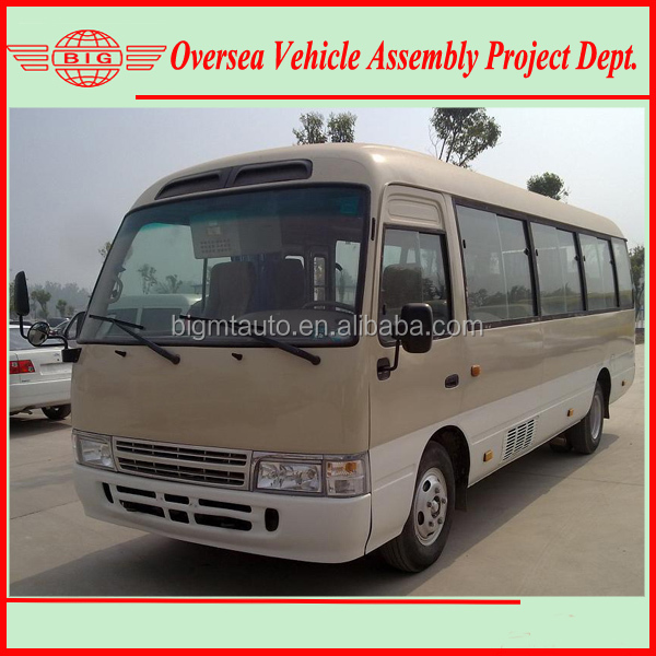 30 seater coaster mini bus rhd & lhd available for local sale and assembly