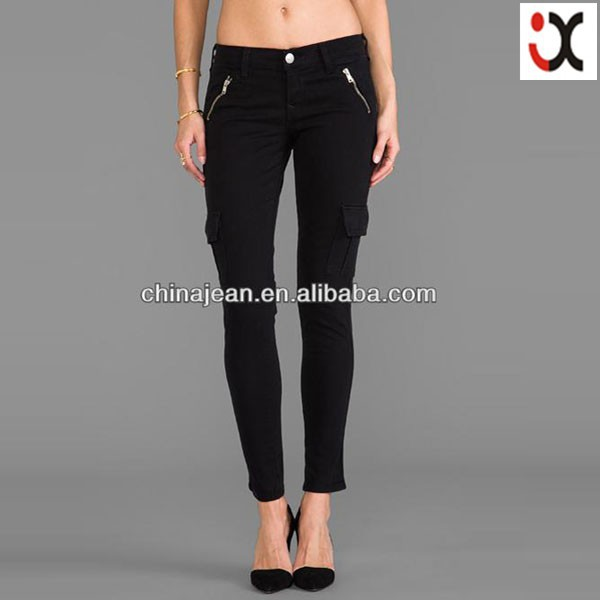 fashion design womens cargo pants cheap cargo pants women JXL22019