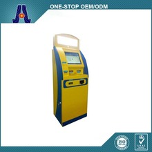 Automatic Self Service Touch Screen Payment Kiosk/Bill Payment Kiosk/Card Reader Cash Payment
