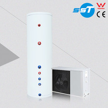 Customized luxury low noise air source evi heat pump air to water