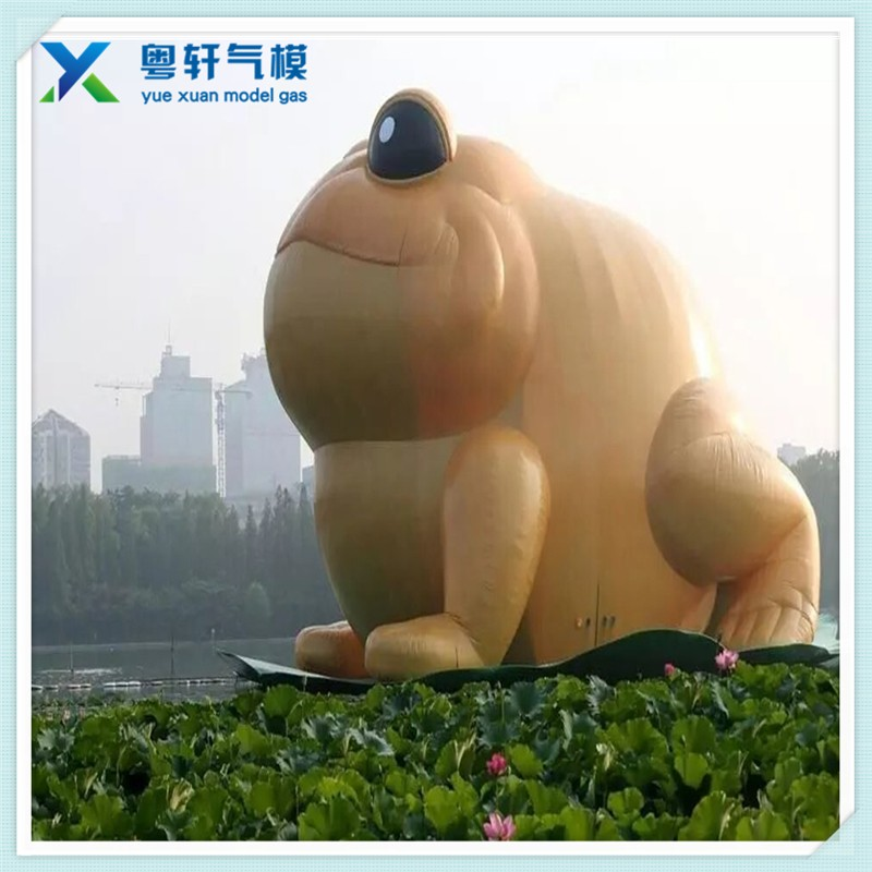 Factory price giant inflatable frog model/inflatable animal cartoon for advertising to sale