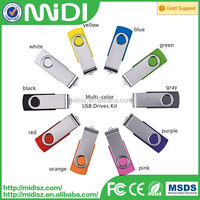 Hot Selling Swivel USB Flash Drive 16GB for Promotion Gifts