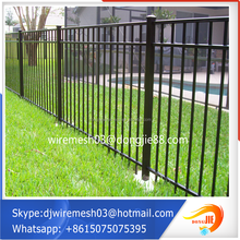 Low carbon steel wire welded double wire fence fabrication