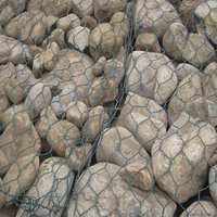 wire cages gabion rock basket retaining wall