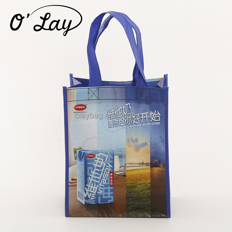 German Promotion P-p Non Woven Folding Shopping Tote Bag