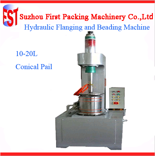 Automatic Tin Container Making Machine Forming Curling Flanging Sealing Beading Welding10-20L Paint Bucket Production Line