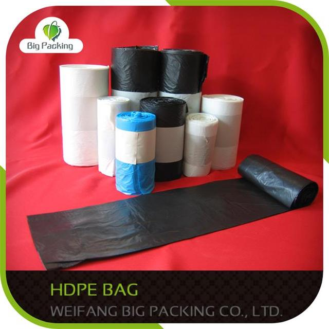 hdpe HDPE t-shirt bag with printing Biodegradable plastic bag/LDPE bag/HDPE bag HDPE virgin T-shirt plastic bag
