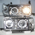 Prado 4500 Land cruiser LC80 FJ80 LED Angel Eyes Headlight 1990-1997 LF