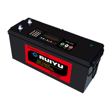 Long life 12V N120 MF 120AH auto/truck/lorry battery with 99.996% lead