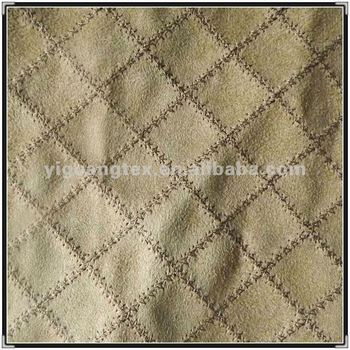 embroidered composited microfiber suede upholstery fabric for car seat yg 152 buy microfiber. Black Bedroom Furniture Sets. Home Design Ideas