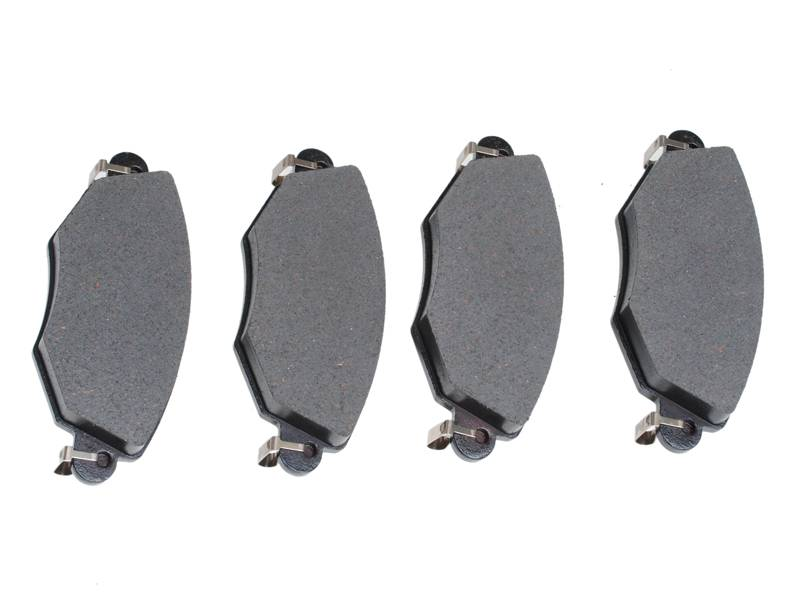 semi-metallic disc brake pad