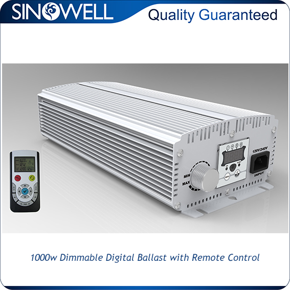 Hydroponic Industry Honest Manufacturer SINOWELL Double Ended HPS Digital Ballast
