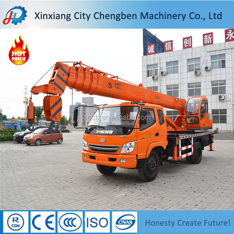 Good used China mini lifting crane truck for sale