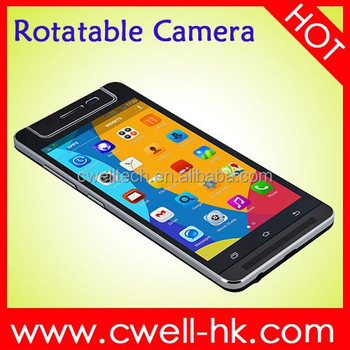 X-BO V5 Dual SIM Card Rotatable Camera 5 Inch Touch Screen OEM Smartphone