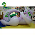 Hot Sale Purple Laying Sexy Dragon , Inflatable Goodra Dragon With Sexy SPH