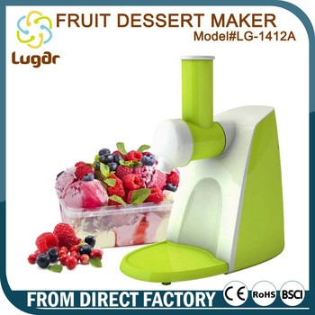 New Product 150 W Electric Fruit Salad Maker With Making Fruit Ice Cream Function